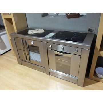 Fogão Design 170 (lenha + eléctrico)