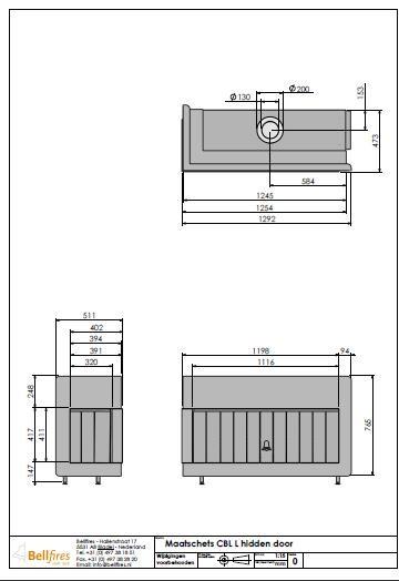 mobiliário de jardim jumbo:Recuperador Corner Bell Large3 hidden door telecomando