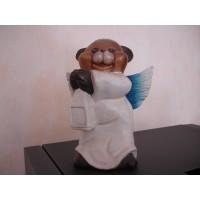 Urso anjo lanterna