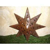 Estrela em chapa pequena