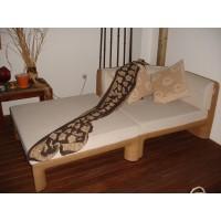Chaise longue XXL esquina Natural c/ almofadas (KETTAL)